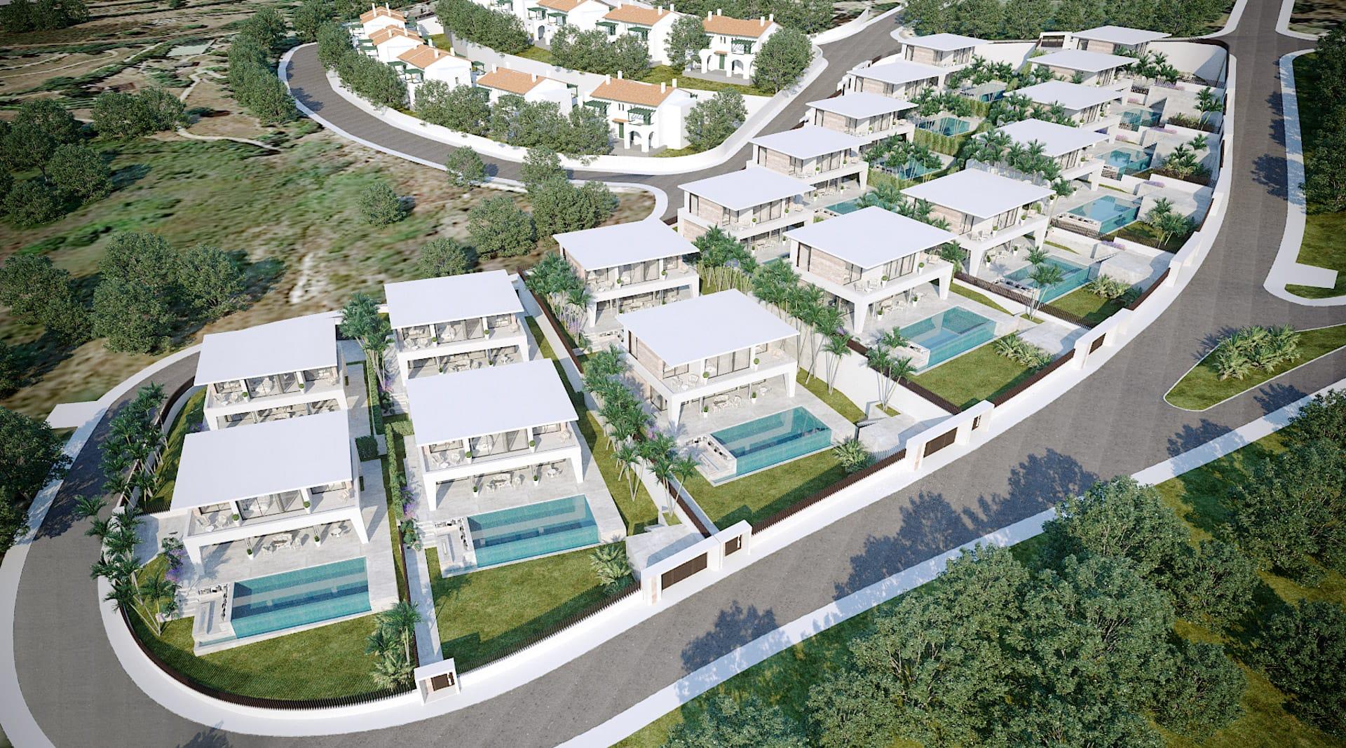 Residencial Don Amaro vista aerea