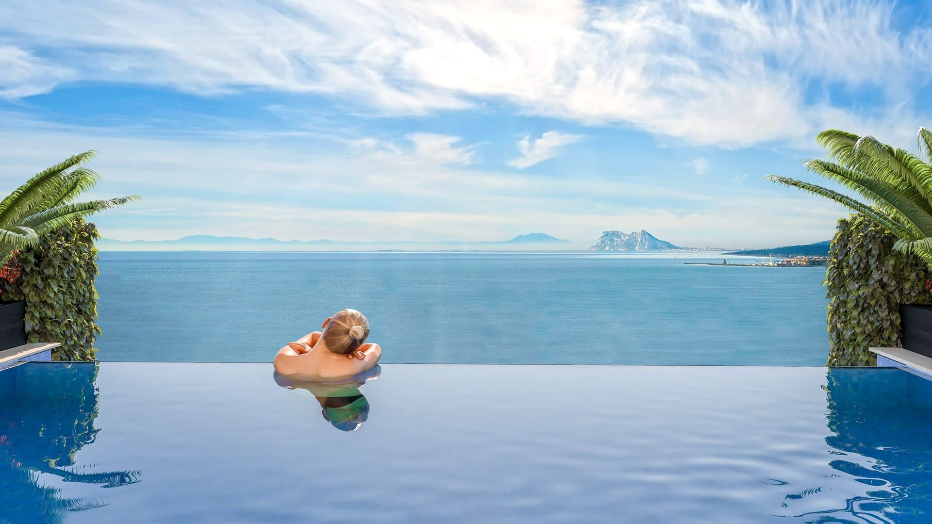 Chalet con vistas al mar
