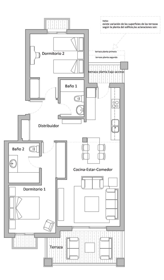 Plano-apartamentos-Tubalitas-paloma-beach-2-dormitorios